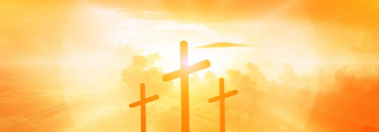 Sonne über Golgatha - Jesus