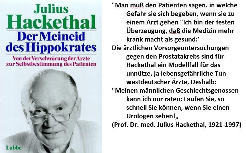 Julius Hackethal Zitat